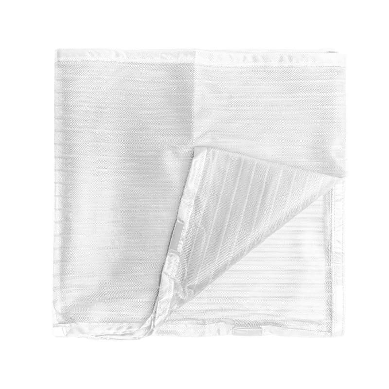 Magnetic door curtain, white