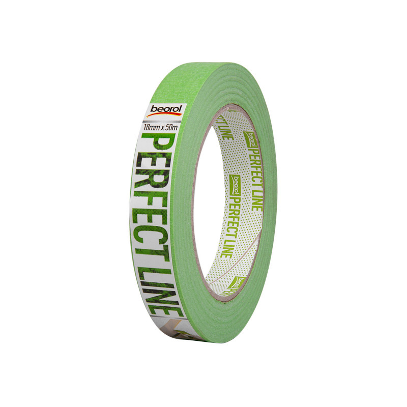 Masking tape Perfect line 18mm x 50m, 80ᵒC