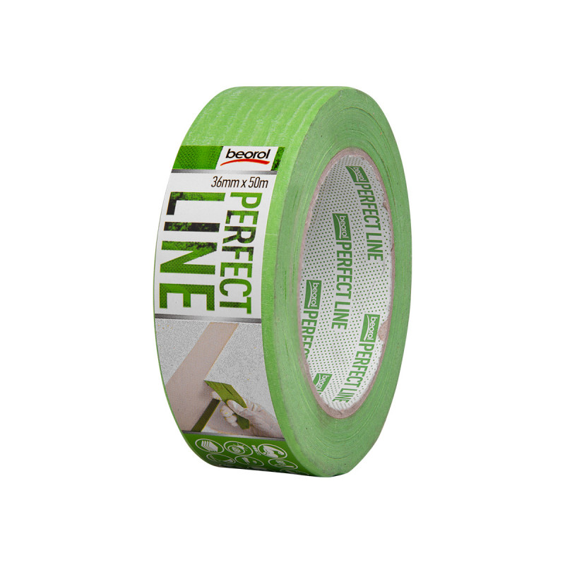 Masking tape Perfect line 36mm x 50m, 80ᵒC