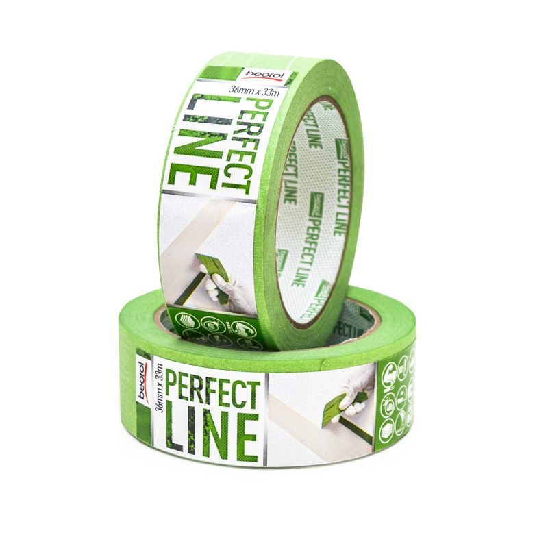 Masking tape Perfect line 36mm x 33m, 80ᵒC