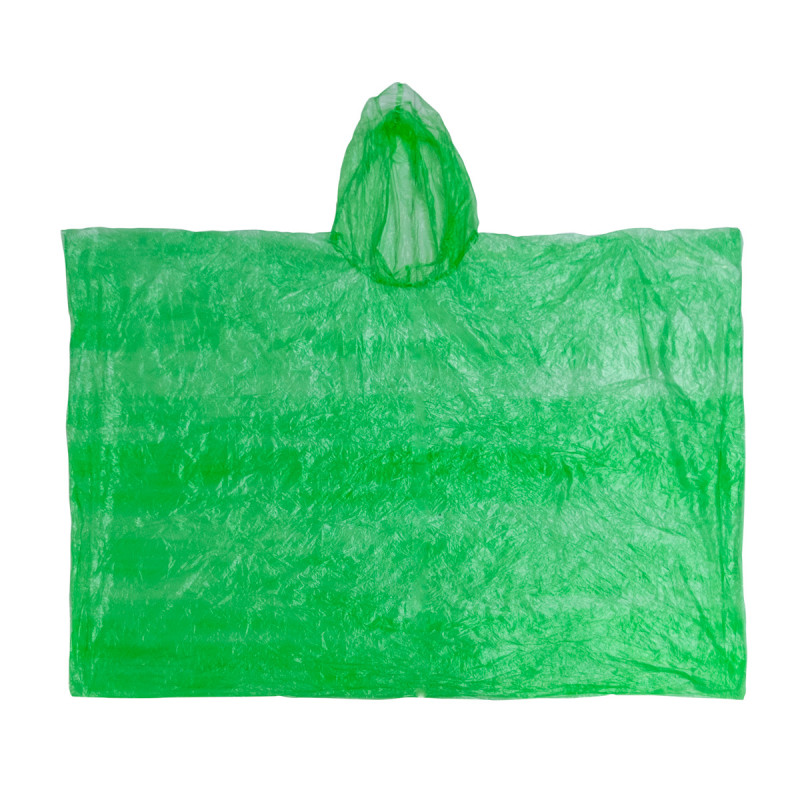Poncho, green