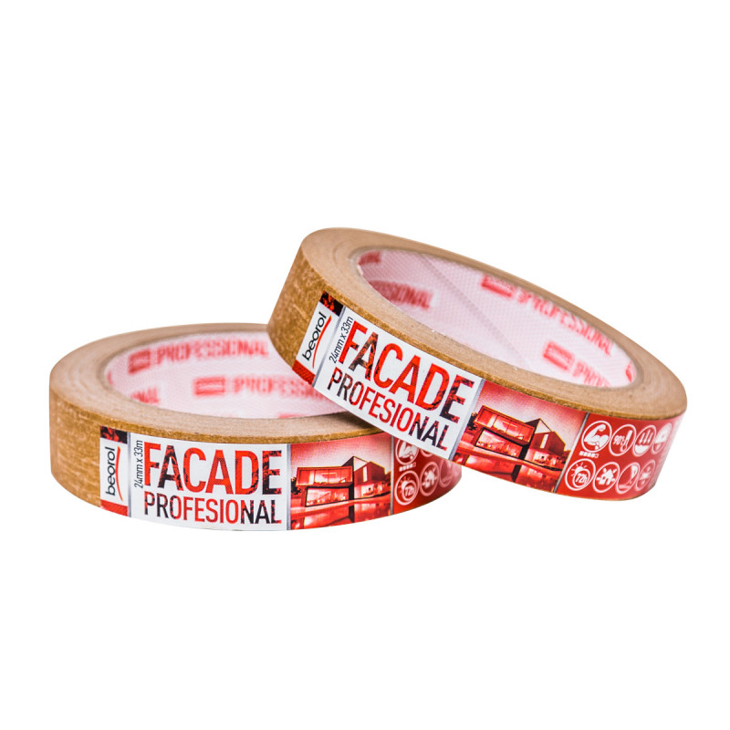 Masking tape Facade Professional 24mm x 33m, 90ᵒC