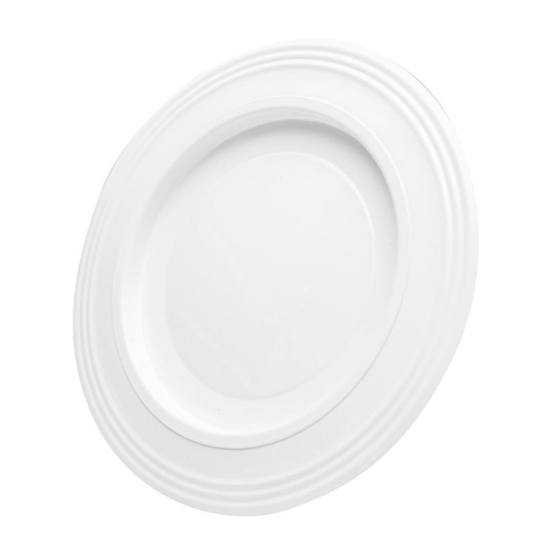Rosette white ø 119