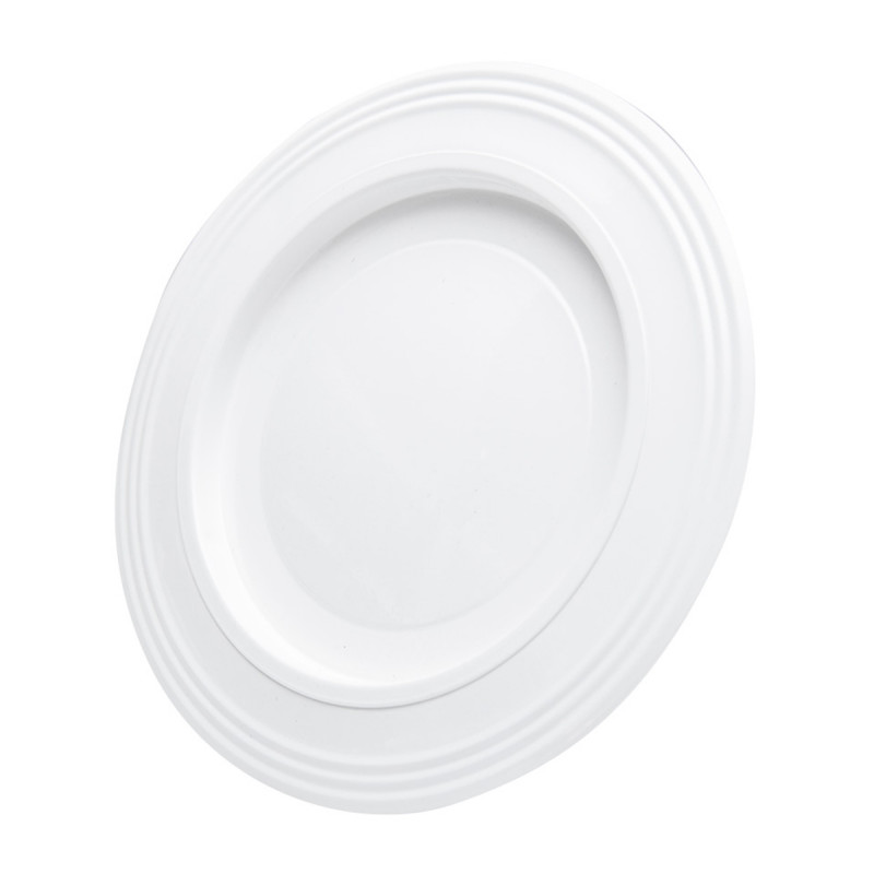 Rosette white ø180
