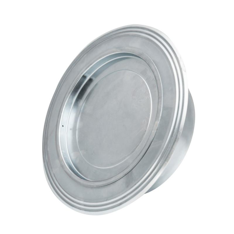 Rosette zinc plated ø119