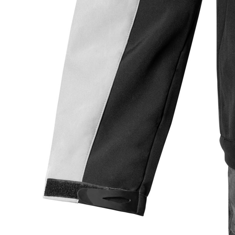 Work jacket softshell hood