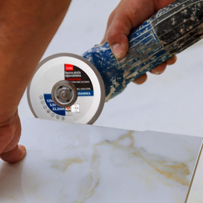 Diamond cutting disc for ceramics, ø125mm