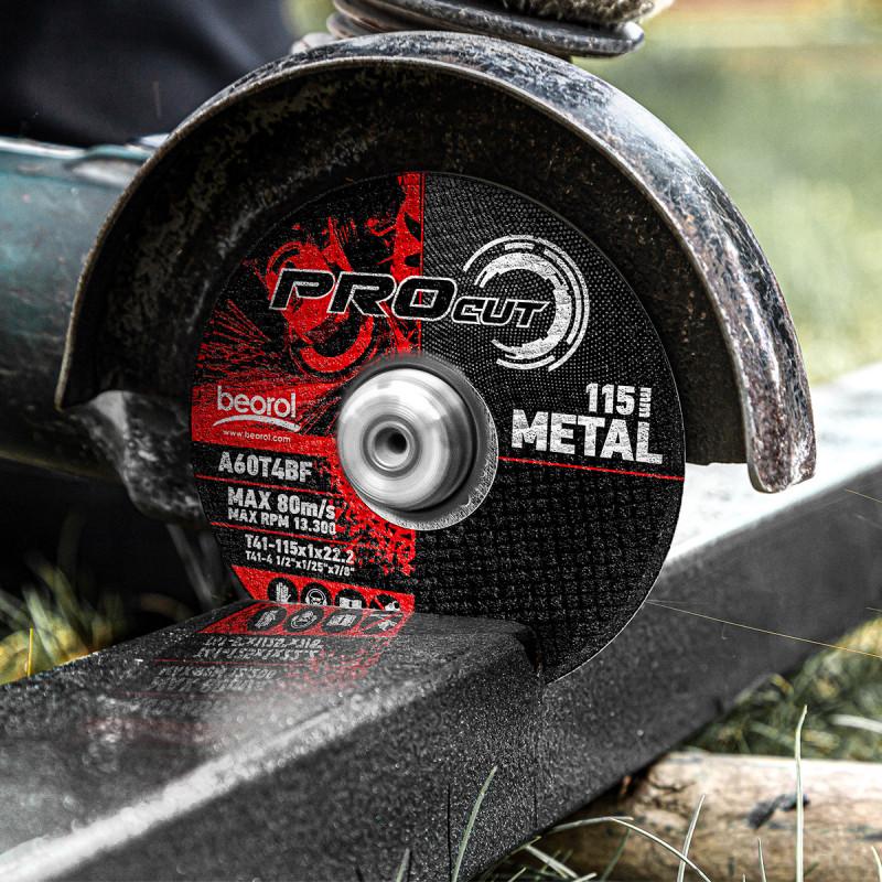 Cutting disc for metal ø115x3mm