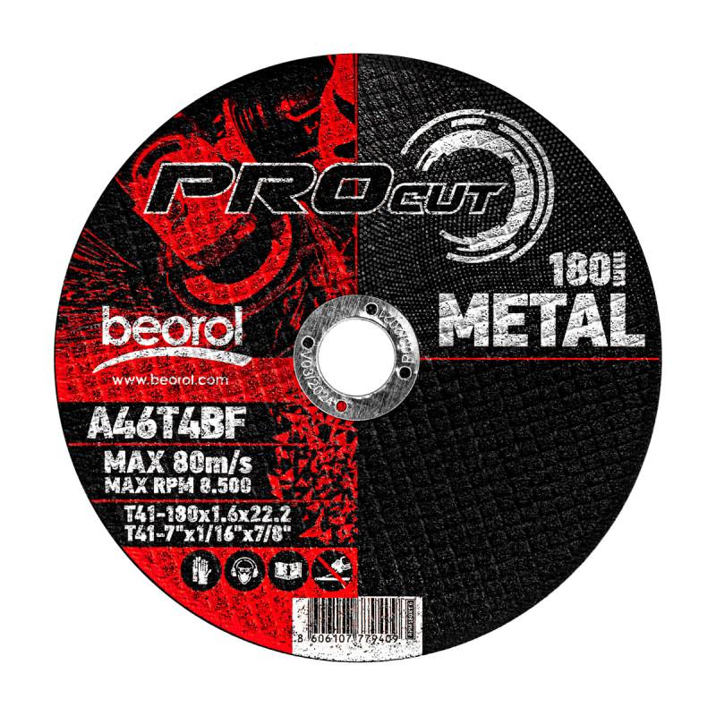 Cutting disc for metal ø180x1.6mm