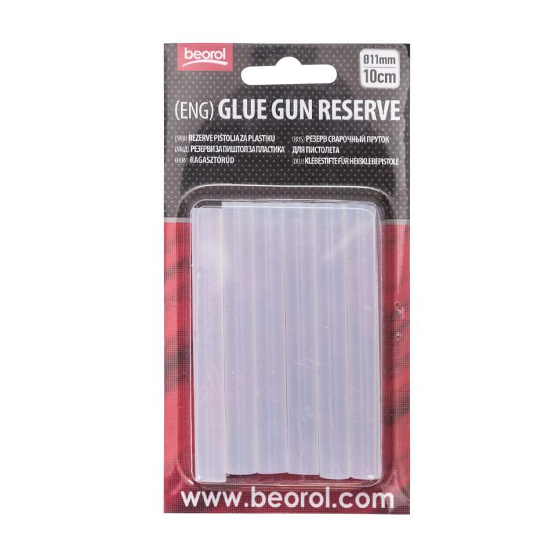 Glue gun reserve 11mmx10cm White