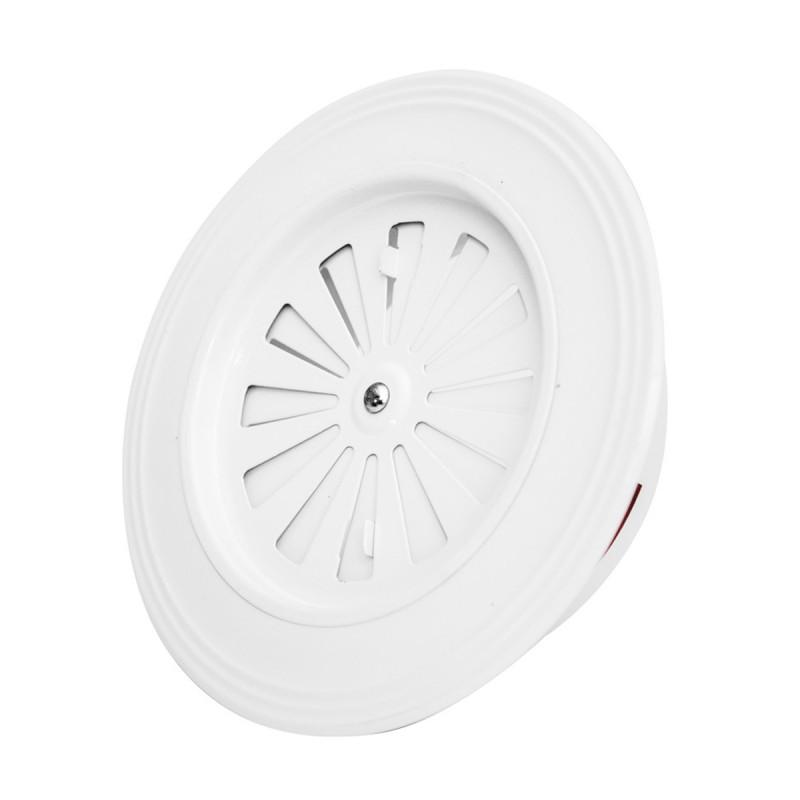 Ventilation rosette white ø 119 flat