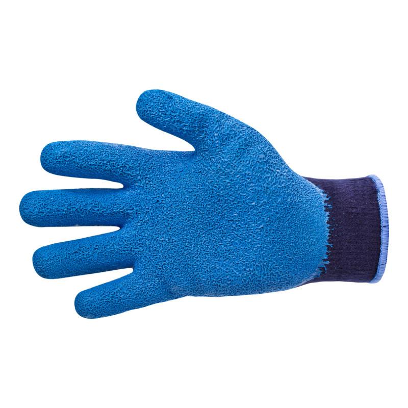 Dip-coated winter gloves