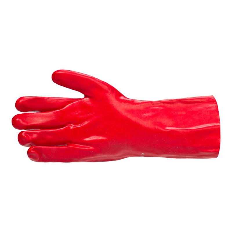 Oil resistant PVC glove