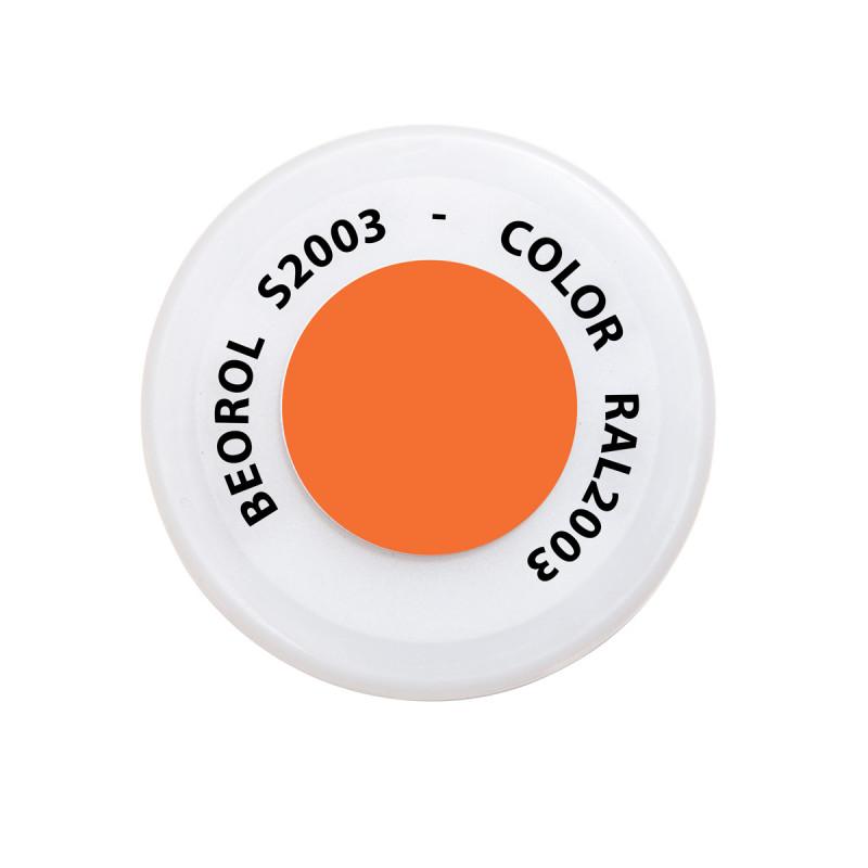 Spray paint orange Pastello RAL2003