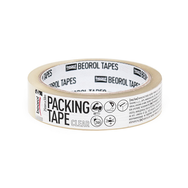 Packing tape 25mm x 50m