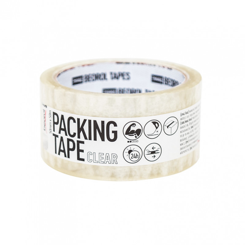 Packing tape 50mm x 50m
