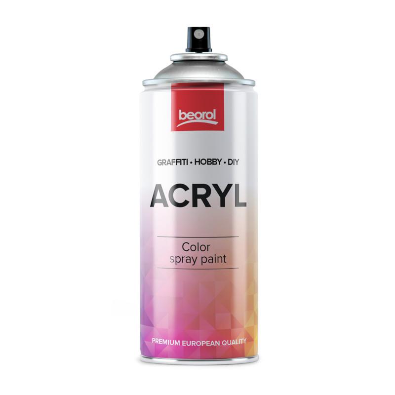 Spray paint gray Luce RAL7035