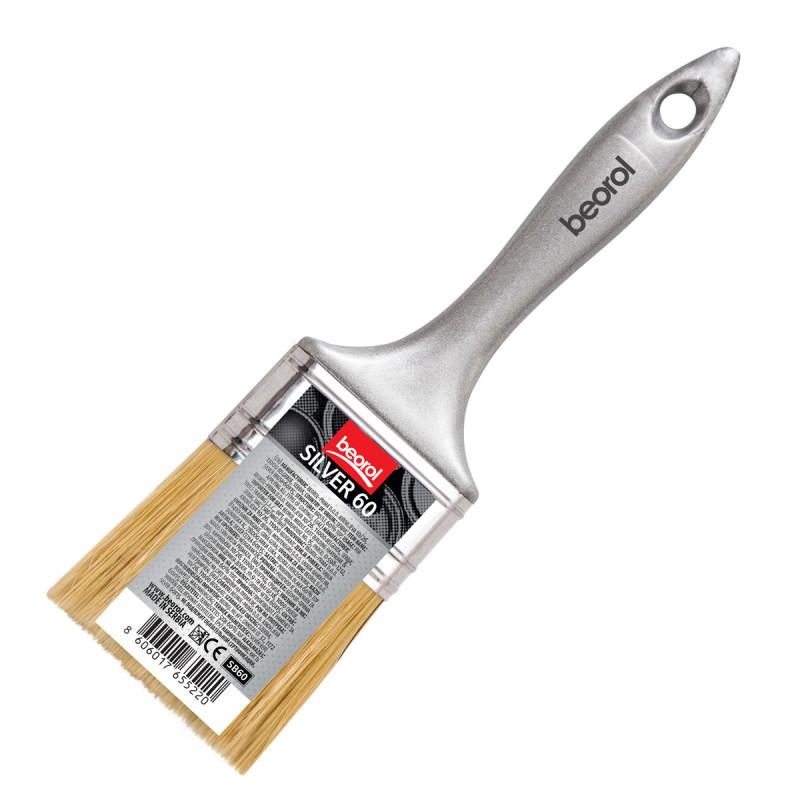 Silver brush 60x15