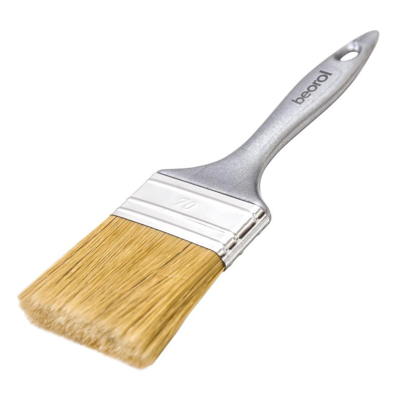 Silver brush 70x15