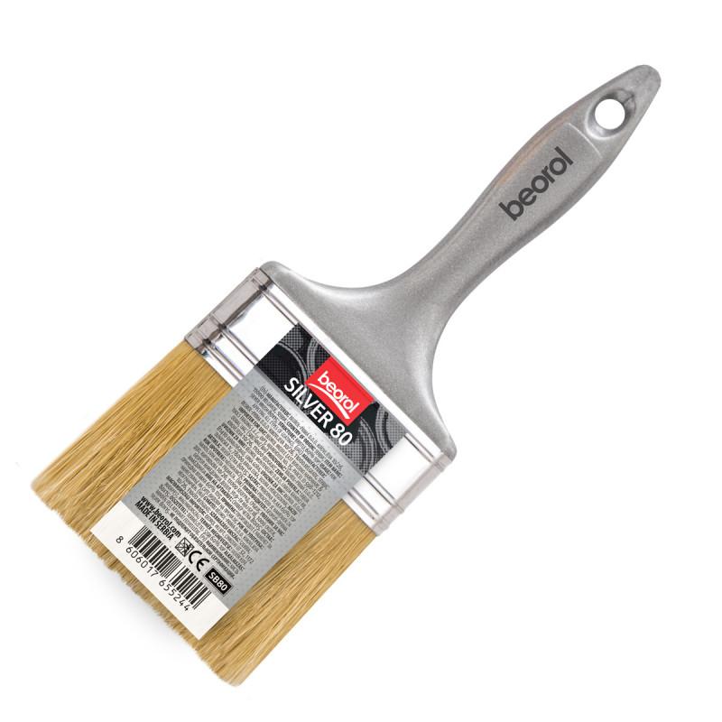 Silver brush 80x15