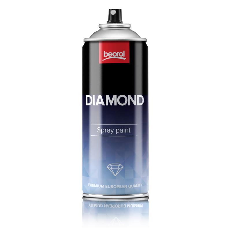 Paint spray diamond effect gray Grigio Argento