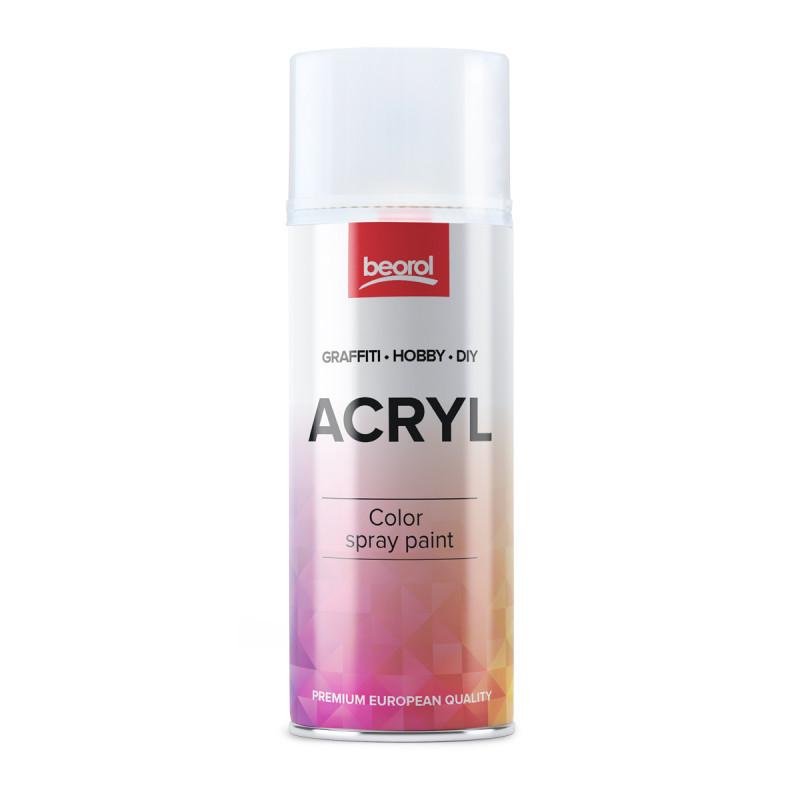 Warnish spray glossy, Transparente Lucida