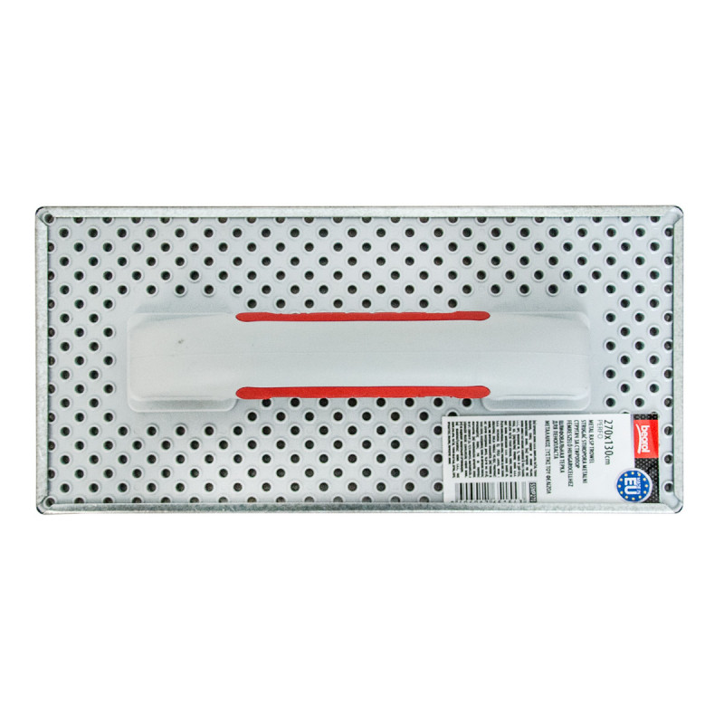 Metal rasp trowel Perfo 270x130mm