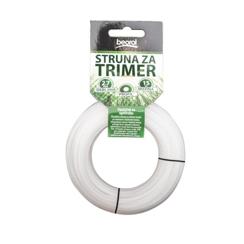 Trimmer line round 2.7mm 15m