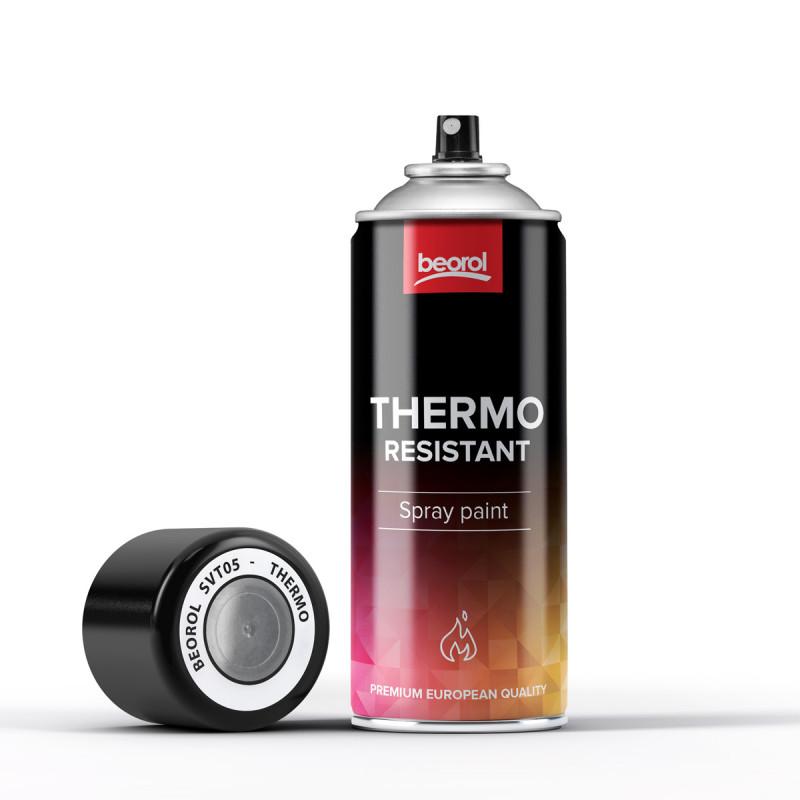 Paint spray for high temperatures Transparente