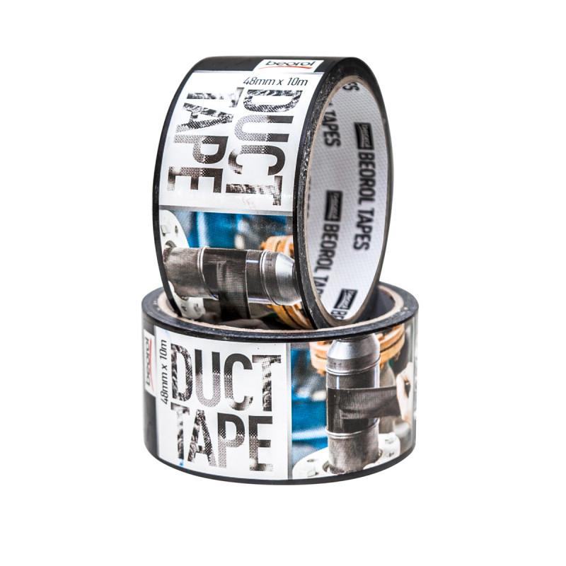 Duct tape 48mm x 10m, black