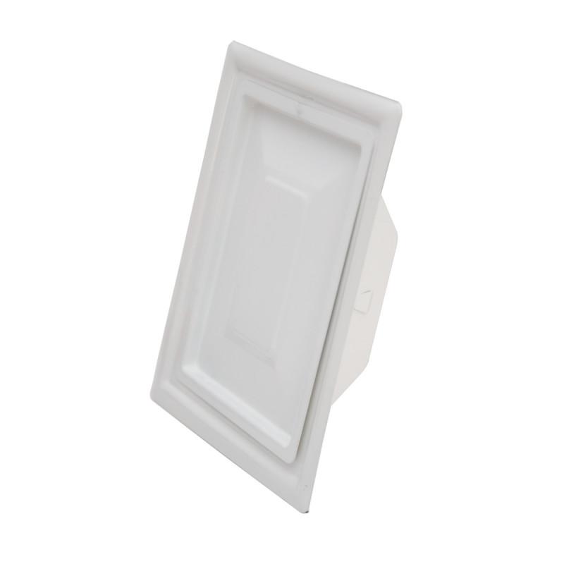 Chimney door, white 110 x 150mm