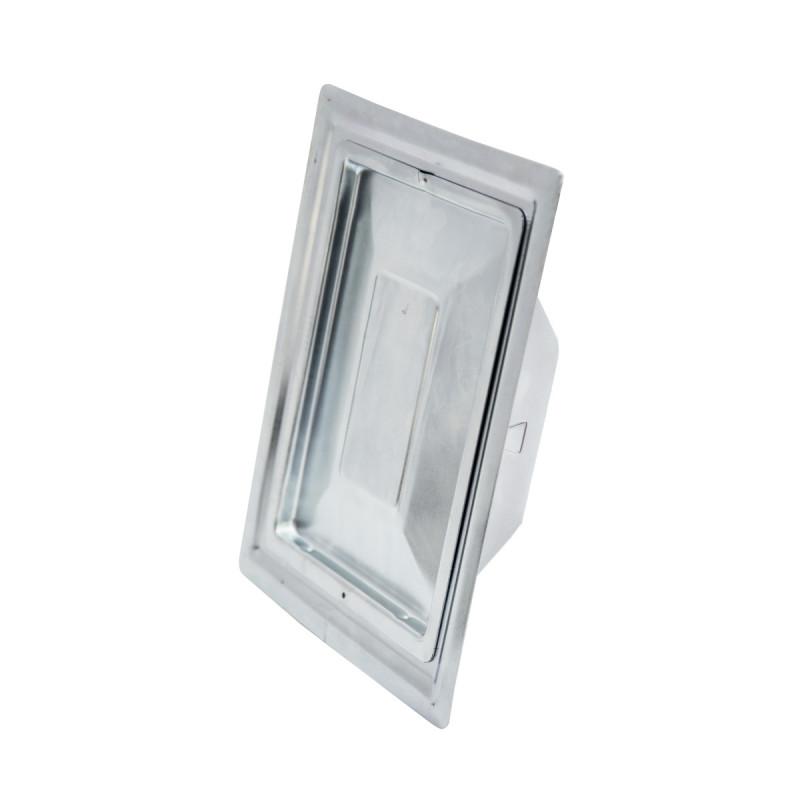 Chimney door, zinc plated 110 x 150mm