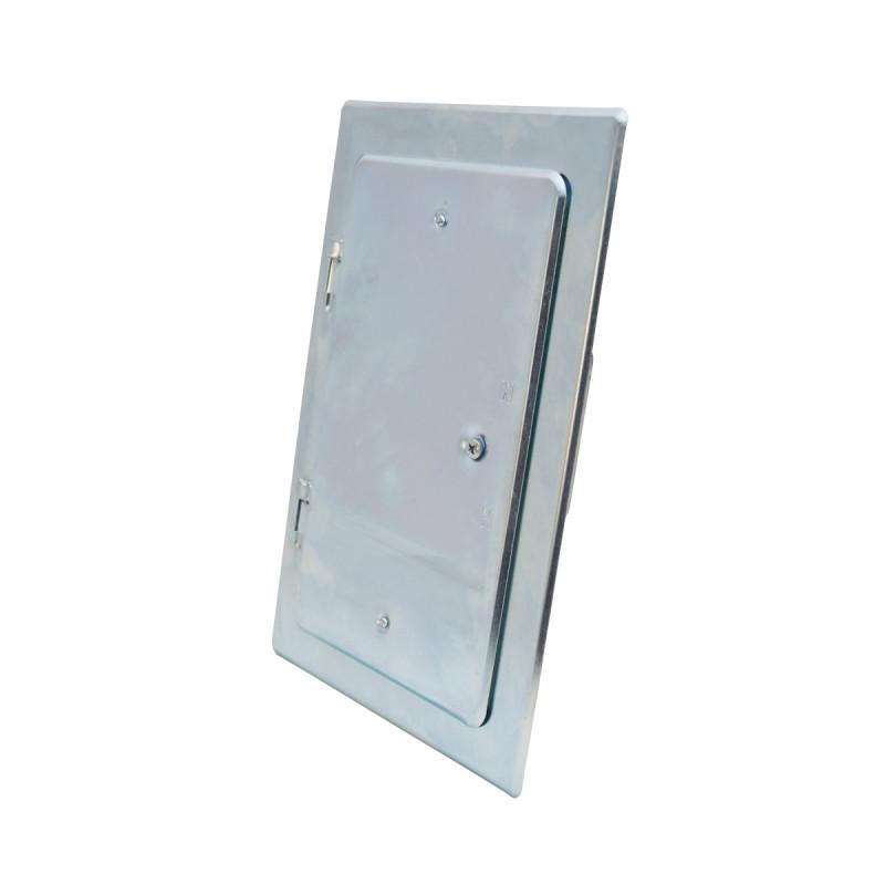 Chimney door, zinc plated 160 x 280mm