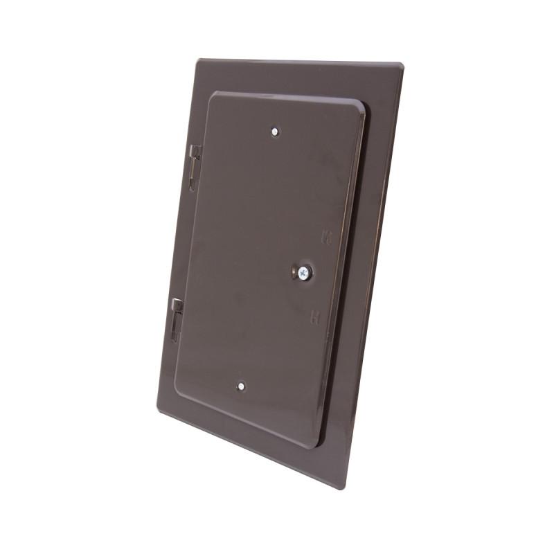 Chimney door, brown 160 x 280mm