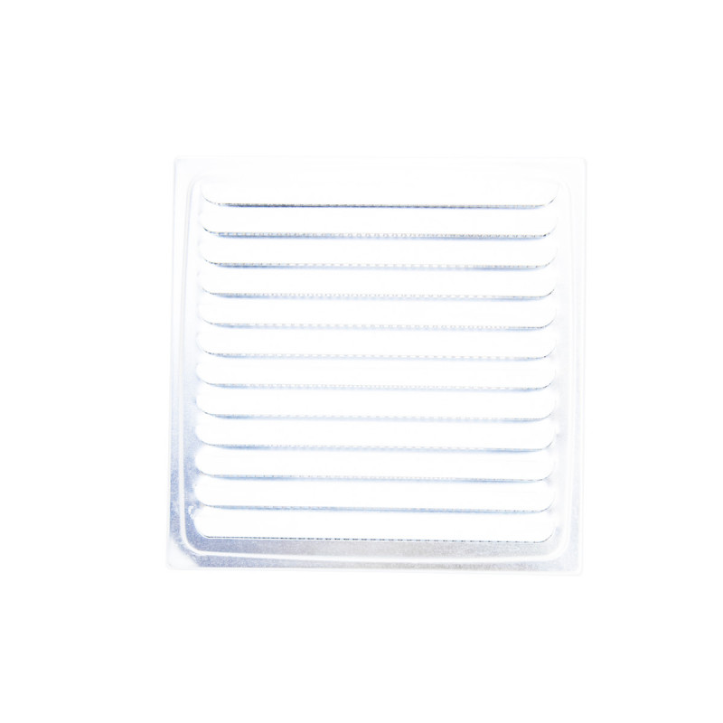 Ventilation grid, without extension, white ø100, 150x150mm
